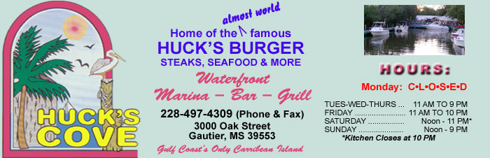 Hucks Cove, 3000 Oak Street, Gautier, MS