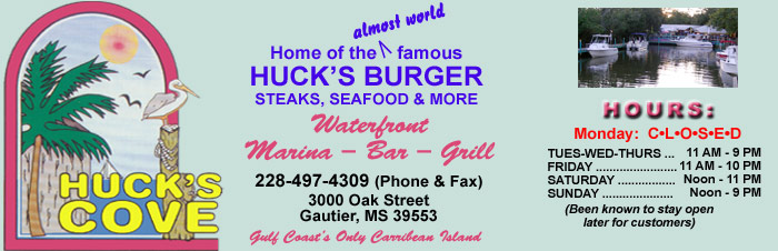 Hucks Cove, Gautier, Mississippi